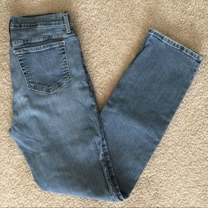 NYDJ Straight Leg High Waisted Jeans Size 10